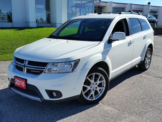 2016 Dodge Journey R T Awd White For 27995 In Orillia