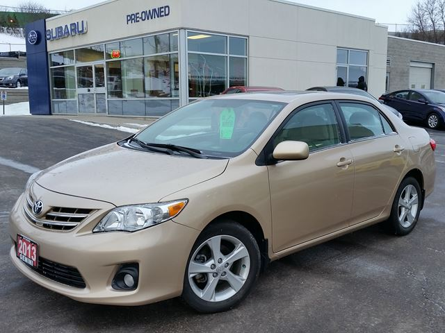 2013 Toyota Corolla Le Kitchener Ontario Used Car For