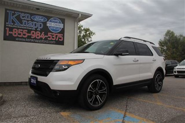 2014 ford explorer sport essex ontario used car for sale 2617781. Black Bedroom Furniture Sets. Home Design Ideas