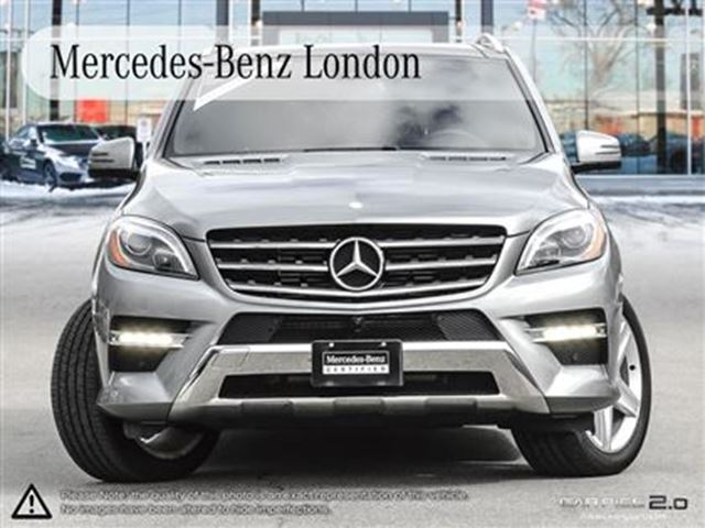 2014 mercedes benz ml350 bluetec 4matic sport package for Mercedes benz london