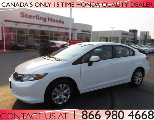 2012 honda civic lx low price hamilton ontario car for sale 2618080. Black Bedroom Furniture Sets. Home Design Ideas