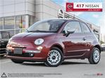 2013 Fiat 500 Lounge // SUNROOF // WINTER TIRES & RIMS // in Ottawa, Ontario