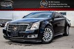 2011 Cadillac CTS Premium AWD Navi Sunroof Backup Cam Bluetooth R-Start Vented Seat in Bolton, Ontario