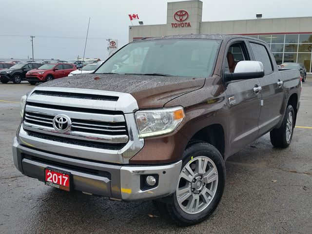 2017 Toyota Tundra 1794 Edition | 2017 - 2018 Best Cars ...