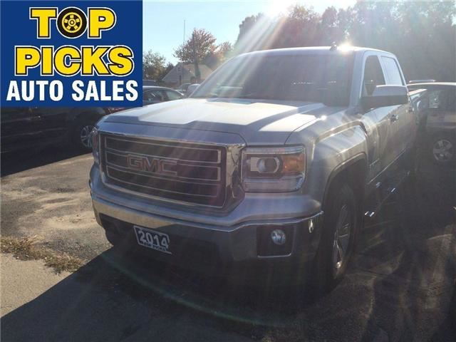 2014 gmc sierra 1500 sle north bay ontario used car for sale 2617957. Black Bedroom Furniture Sets. Home Design Ideas