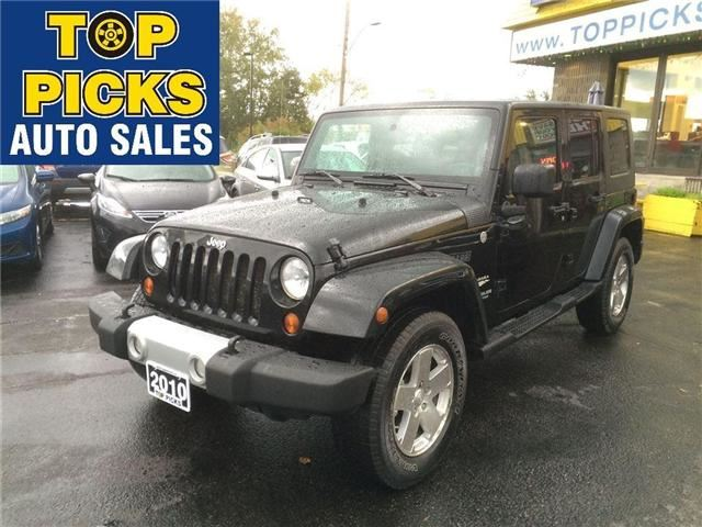 2010 JEEP WRANGLER Unlimited Sahara in North Bay, Ontario