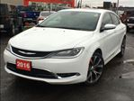 2016 Chrysler 200 C**LEATHER**NAVIGATION**SUNROOF**BLUETOOTH** in Mississauga, Ontario