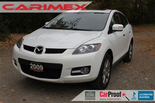 2009 mazda cx 7 gs sunroof leather certified white. Black Bedroom Furniture Sets. Home Design Ideas