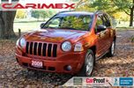 2009 Jeep Compass Sport/North   ONLY 97K   CERTIFIED + E-Tested in Kitchener, Ontario