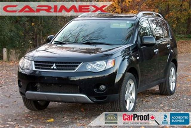 2008 mitsubishi outlander xls 4x4 leather sunroof kitchener ontario used car for sale. Black Bedroom Furniture Sets. Home Design Ideas