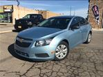 2012 Chevrolet Cruze LS UNREAL LOW KMS!! BLUETOOTH 5 PASSENGER in St Catharines, Ontario