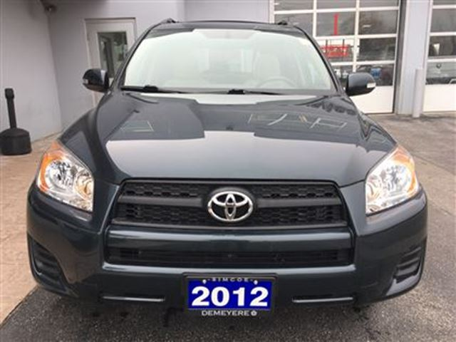 2012 toyota rav4 one owner simcoe ontario used car for sale 2618987. Black Bedroom Furniture Sets. Home Design Ideas