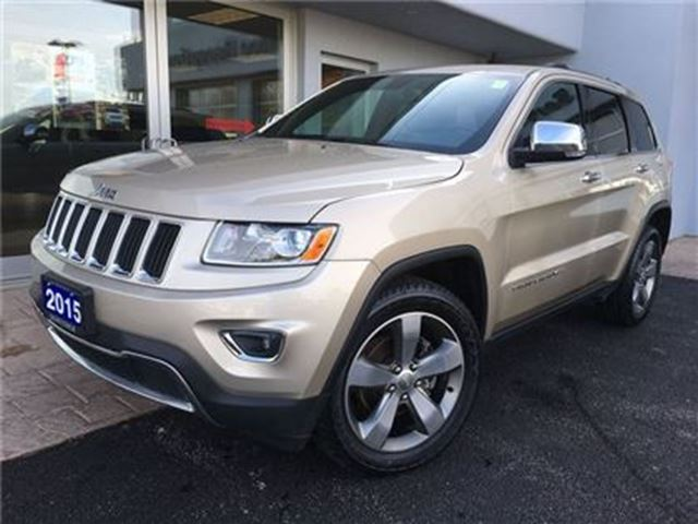 2015 jeep grand cherokee limited heated seats simcoe ontario used. Black Bedroom Furniture Sets. Home Design Ideas