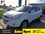 2010 Hyundai Tucson GLS/RECENT TRADE -IN/METICULOUSLY MAINTAINED!! in Kitchener, Ontario