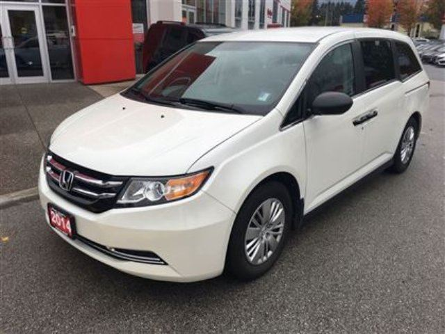 2014 honda odyssey lx maple ridge british columbia car for sale 2619204. Black Bedroom Furniture Sets. Home Design Ideas