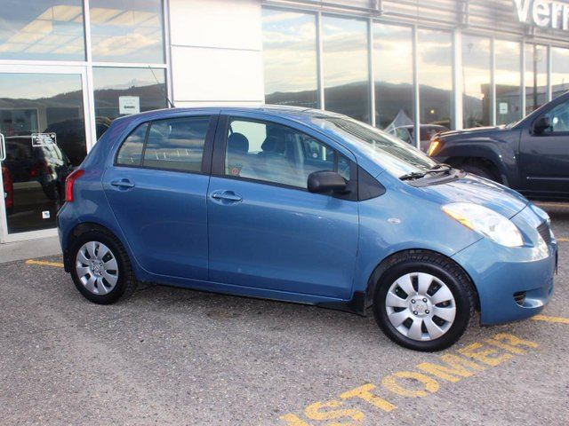 2008 TOYOTA YARIS S Manual 5dr Hatchback in Vernon, British Columbia