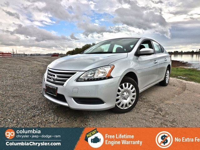 2015 NISSAN SENTRA S in Richmond, British Columbia