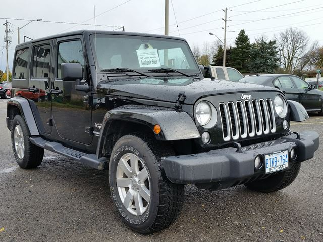 2016 jeep wrangler unlimited sahara 4x4 hardtop convertible brantford ontario used car for. Black Bedroom Furniture Sets. Home Design Ideas