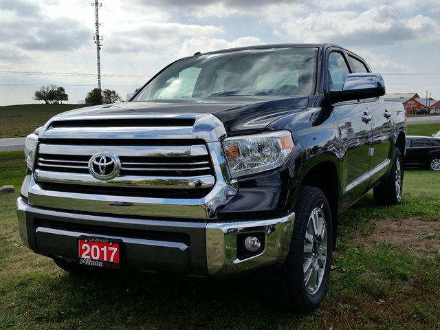 2017 toyota tundra 1794 edition black race toyota new car. Black Bedroom Furniture Sets. Home Design Ideas