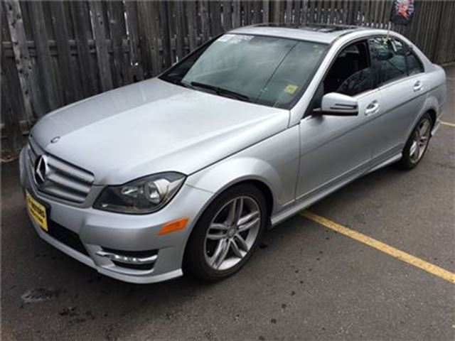 2013 mercedes benz c class c300 automatic leather sunroof awd burlington ontario used car. Black Bedroom Furniture Sets. Home Design Ideas