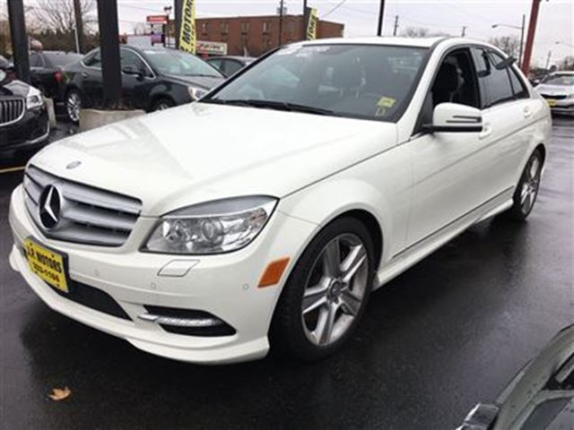 2011 mercedes benz c class c300 automatic leather for Mercedes benz sunroof
