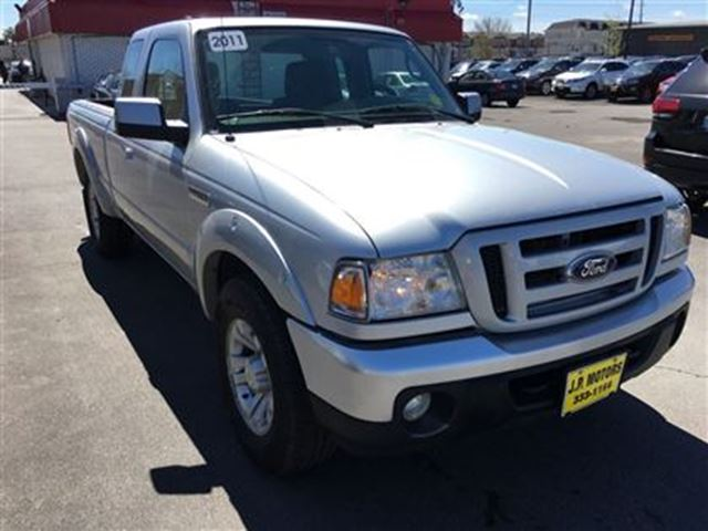 2011 ford ranger sport extended cab automatic 4x4 burlington ontario used car for sale. Black Bedroom Furniture Sets. Home Design Ideas
