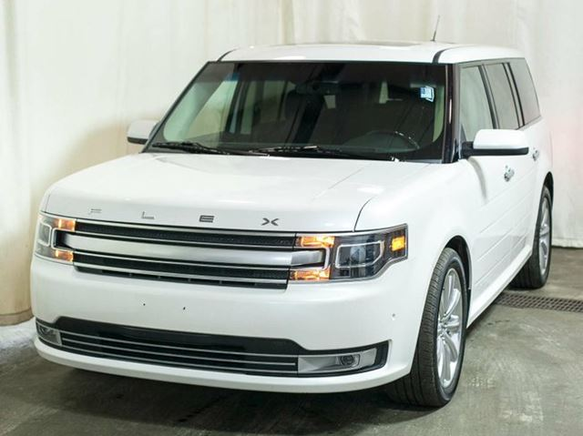 2016 ford flex limited awd ecoboost w navigation panoramic roof leather bluetooth edmonton. Black Bedroom Furniture Sets. Home Design Ideas