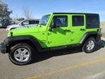 2013 Jeep Wrangler Unlimited Sport 4x4 in Medicine Hat, Alberta