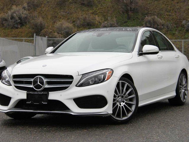 2015 mercedes benz c class c400 4matic kamloops british