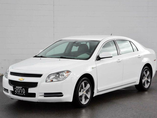 2010 chevrolet malibu hybrid white penticton honda. Black Bedroom Furniture Sets. Home Design Ideas