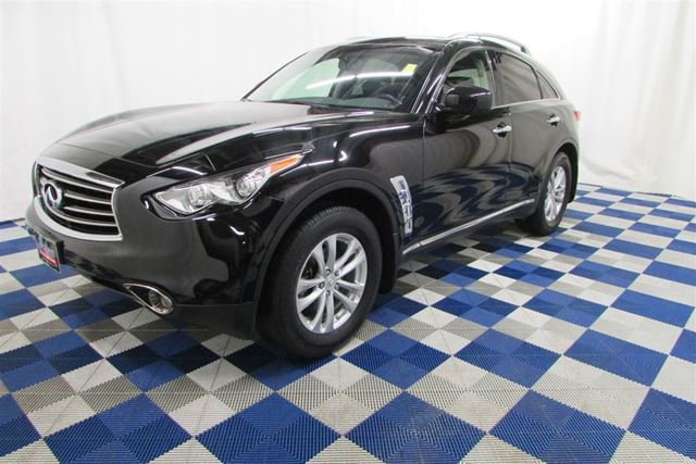 2012 INFINITI FX35 Premium/SPORT/SUNROOF/MEMORY SEATS/REAR VIEW CA in Winnipeg, Manitoba