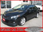 2010 Toyota Corolla XRS !!! 1 OWNER CARPROOF CLEAN NO ACCIDENTS!!! in Toronto, Ontario