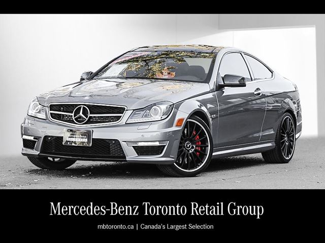2013 mercedes benz c63 amg coupe toronto ontario used. Black Bedroom Furniture Sets. Home Design Ideas