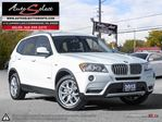 2013 BMW X3 xDrive28i AWD ONLY 77K! **CLEAN CARPROOF** PREMIUM PKG in Scarborough, Ontario