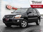 2008 Kia Sportage LX-Convenience *Safetied\Cruise Control\CD Stereo in Winnipeg, Manitoba