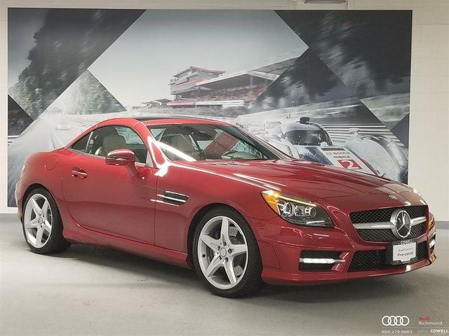 2016 MERCEDES-BENZ SLK-CLASS Base in Richmond, British Columbia