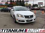 2011 Suzuki Kazashi SX+AWD+Heated Leather Seats+Sunroof+Fully Loaded++ in London, Ontario