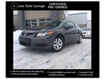 2012 Honda Civic LX - CERTIFIED PRE-OWNED, ONLY 62,000KM!! POWER GROUP, A/C, CD/MP3, CRUISE, BLUETOOTH!! in Orleans, Ontario