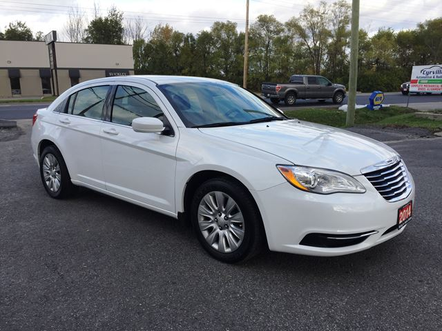 2014 Chrysler 200 Lx Automatic Loaded Low Kms Accident