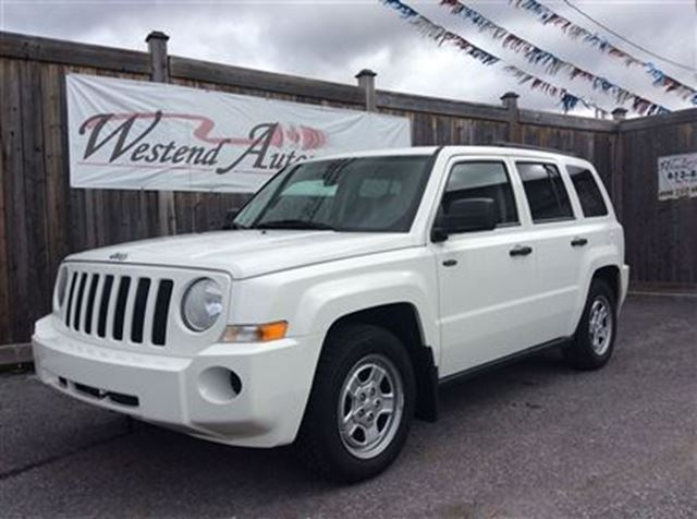 2008 jeep patriot sport white westend automotive. Black Bedroom Furniture Sets. Home Design Ideas