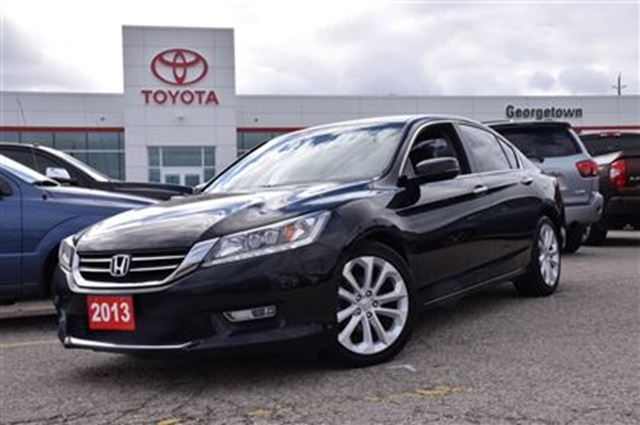 2013 honda accord touring georgetown ontario used car for Used 2013 honda accord coupe