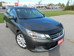 2013 Honda Accord Touring 4dr Sedan - LEATHER,EXTENDED WARRANTY,GPS! in Belleville, Ontario