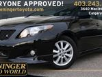 2010 Toyota Corolla 4-door Sedan S 5M in Calgary, Alberta