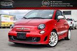 2015 Fiat 500 Convertible Abarth Pwr Top Bluetooth Keyless Entry Heated Front Seats 17Alloy Rims in Bolton, Ontario