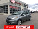 2015 Nissan Versa SV GREAT ON GAS!!!! in Grimsby, Ontario