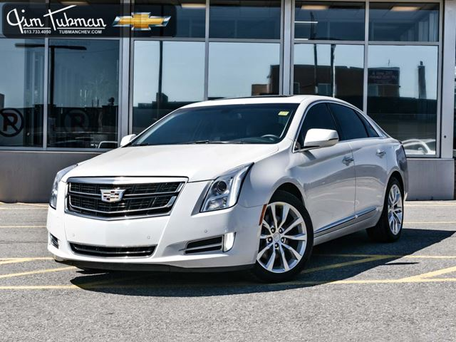 2016 cadillac xts luxury collection white jim tubman motors. Black Bedroom Furniture Sets. Home Design Ideas