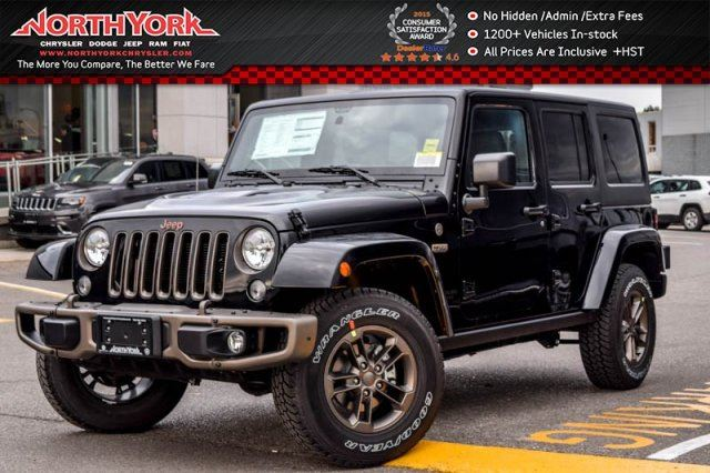 2017 jeep wrangler unlimited new car 75th anniversary nav leather dual. Black Bedroom Furniture Sets. Home Design Ideas