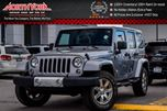 2015 Jeep Wrangler Unlimited Sahara 4x4 Nav Htd Front Seats AlpineAudio Manual 18Alloys  in Thornhill, Ontario
