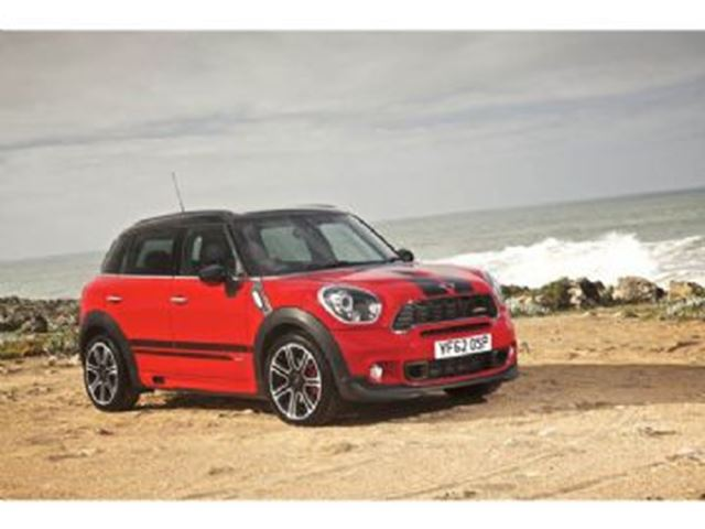 2014 mini cooper countryman all4 s red lease busters. Black Bedroom Furniture Sets. Home Design Ideas