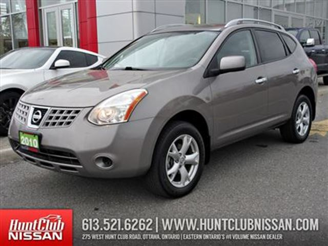 2010 nissan rogue sl ottawa ontario used car for sale 2624153. Black Bedroom Furniture Sets. Home Design Ideas